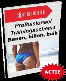 Dames benen, billen, buik trainingsschema