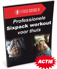 Professionele sixpack workout voor thuis