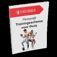 Persoonlijk trainingsschema voor thuis